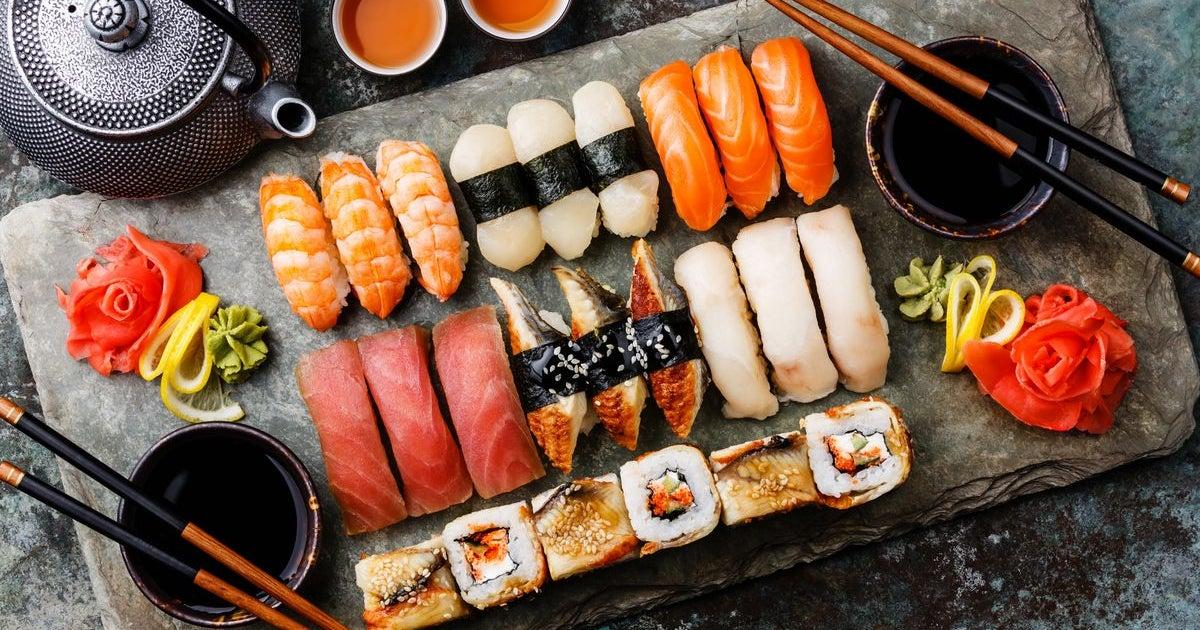 Прикольные картинки на тему суши, анимационные