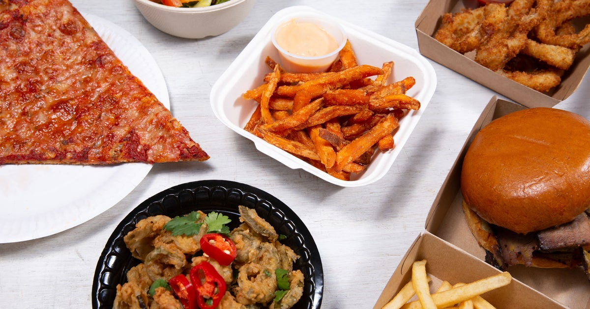 Apache Pizza Delivery From Queens Quarter Order With