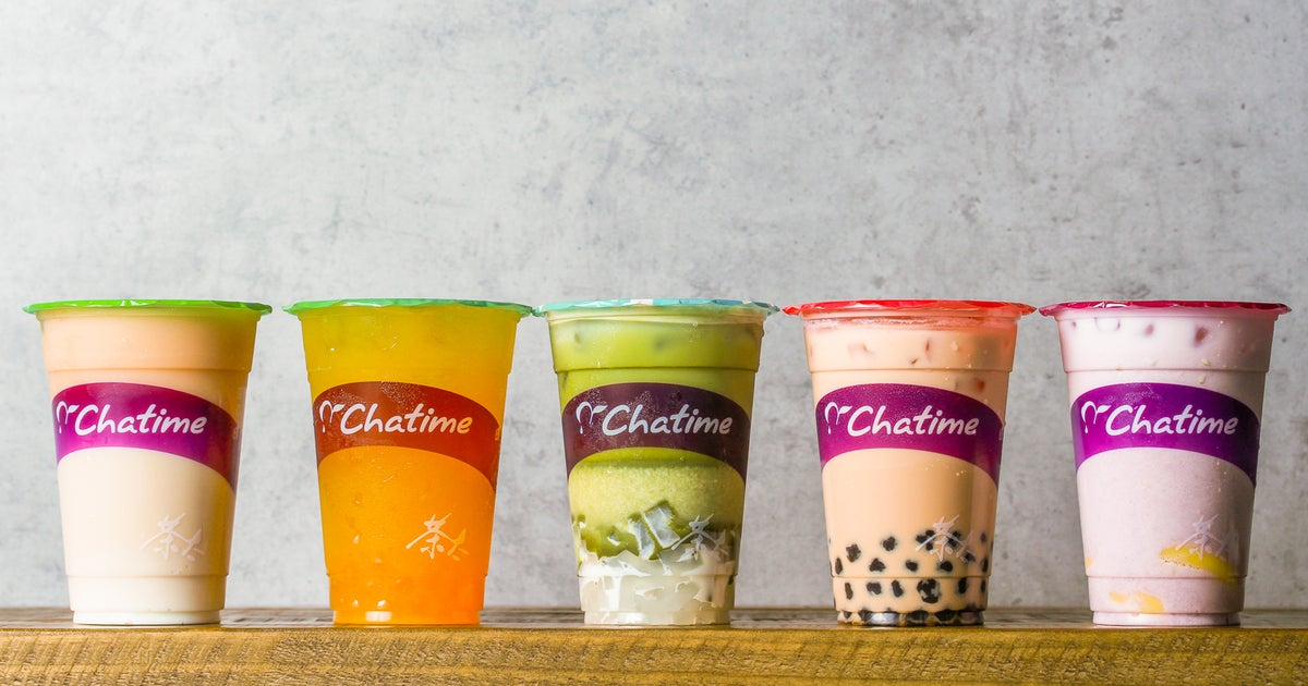 Chatime delivery from Leeds City Centre - Order with Deliveroo