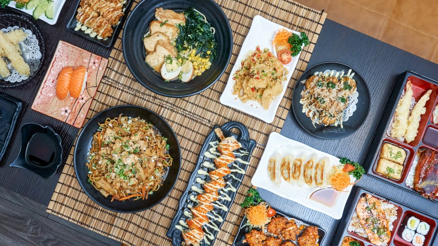 A preview of Bonzai Sushi Bar's cuisine