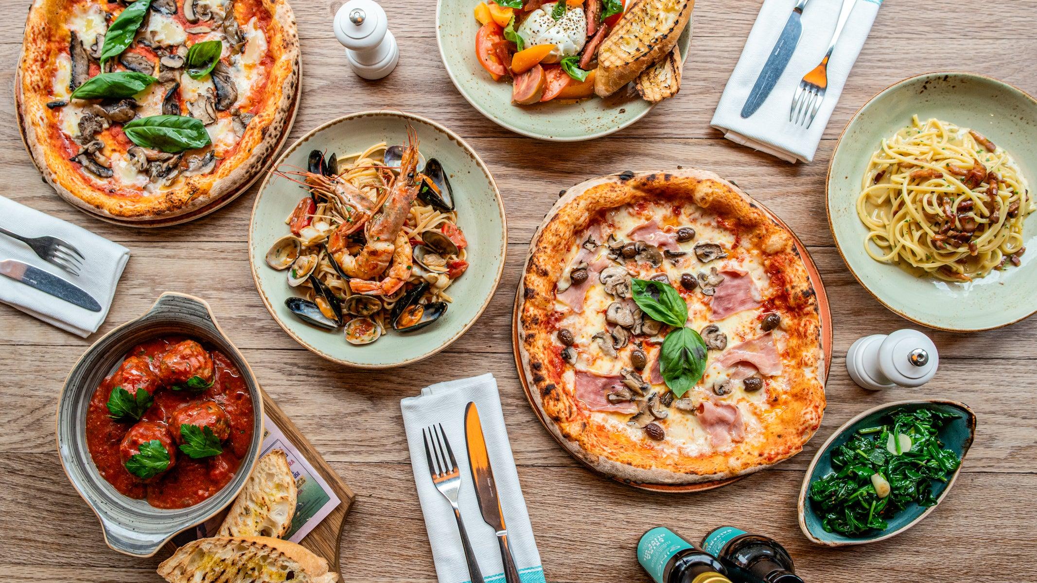 Italian Takeaway Delivered From Restaurants In Harrogate