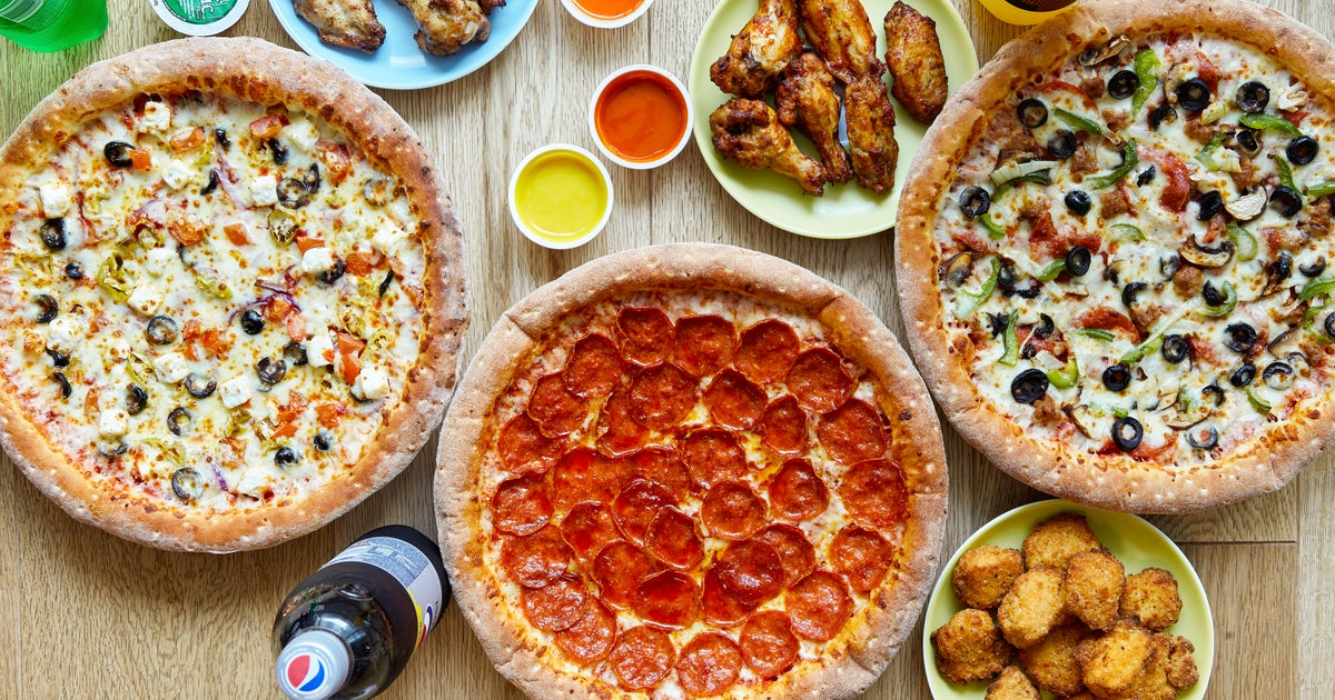 Papa Johns Pizza Delivery From Hinckley Order With Deliveroo