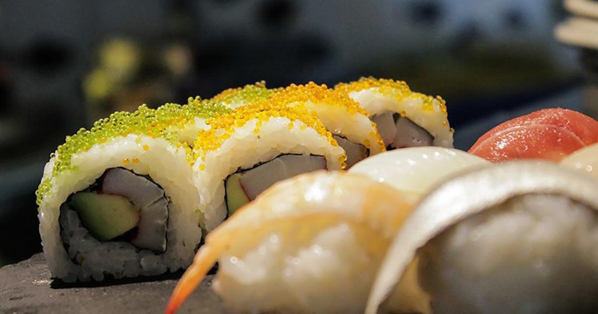 calorias del sashimi de salmon