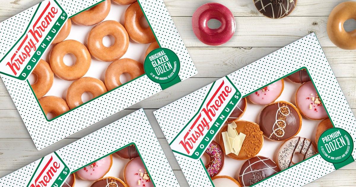 Krispy Kreme delivery from Blanchardstown - Order with Deliveroo