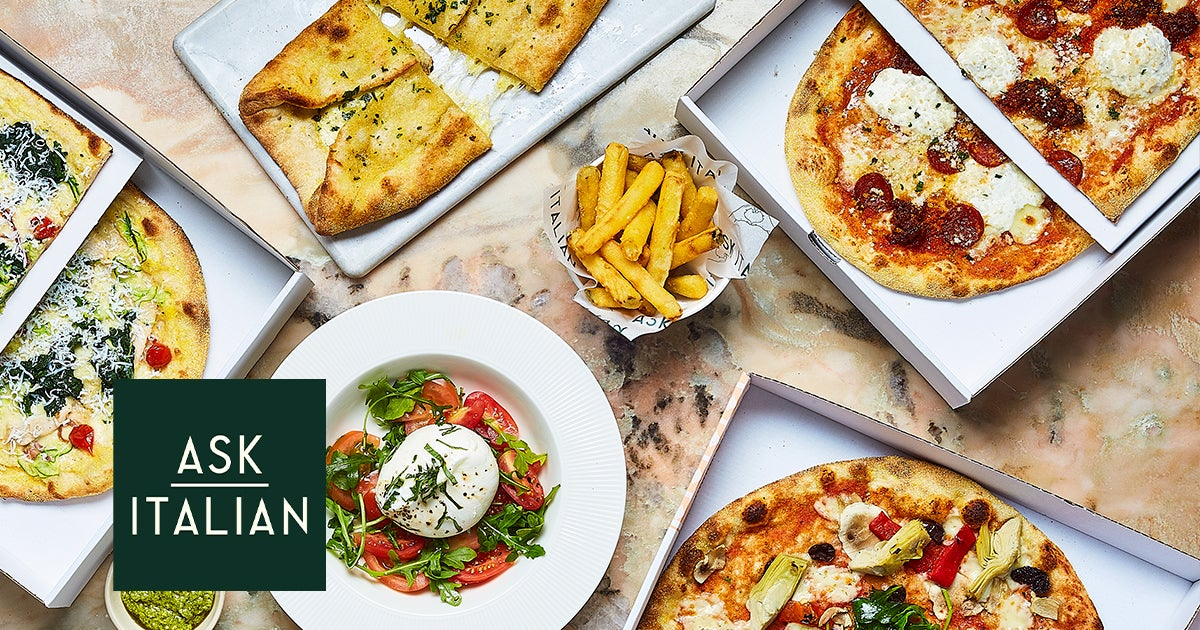 Ask Italian Pasta Pizza Delivery From Crawley Order With