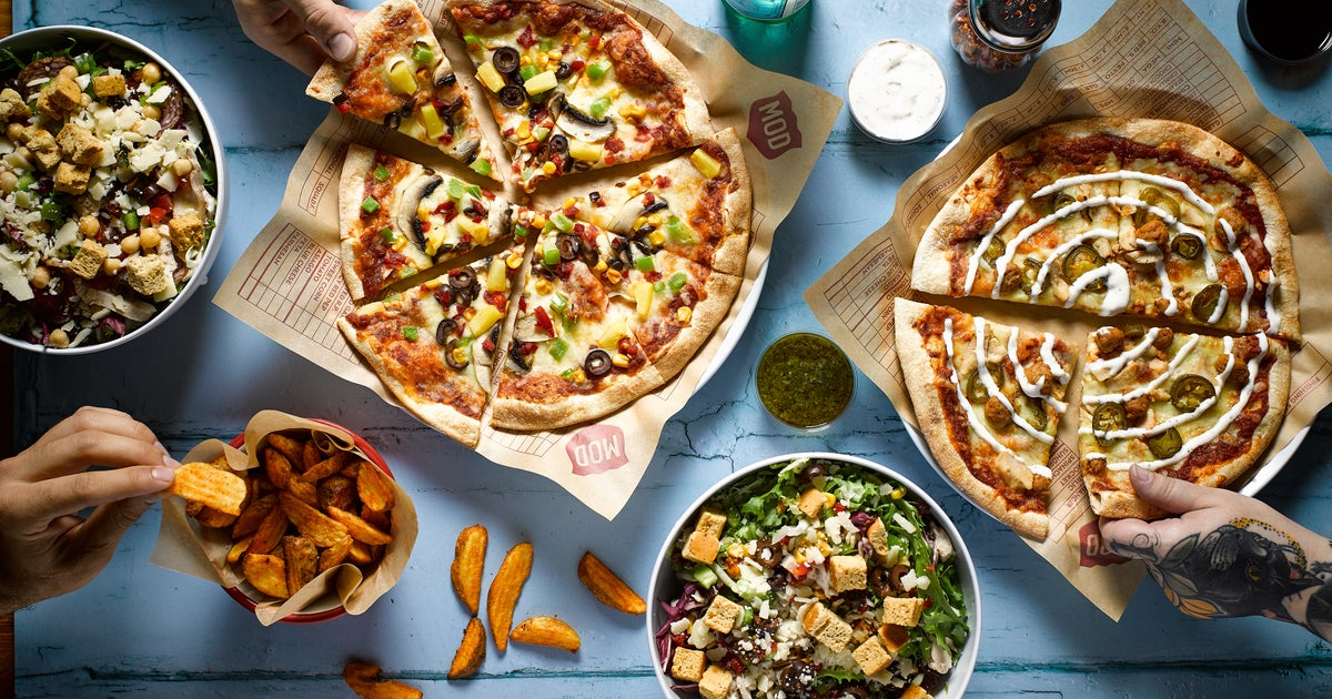 Mod Pizza Delivery From Leeds City Centre Order With Deliveroo
