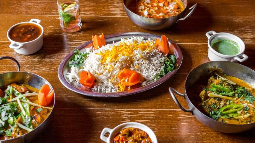 A preview of Chapati Café's cuisine