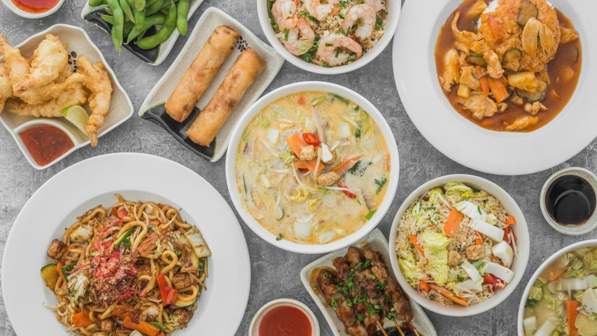 A preview of Tyepyedong's cuisine