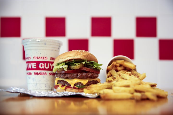 A preview of Five Guys - Canterbury's cuisine