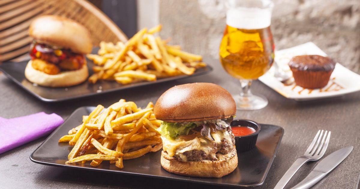livraison trend burger rouen vieux march cath drale. Black Bedroom Furniture Sets. Home Design Ideas