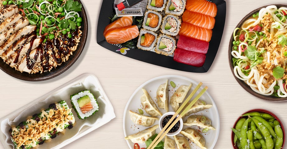 A preview of itsu - Brighton North Street's cuisine