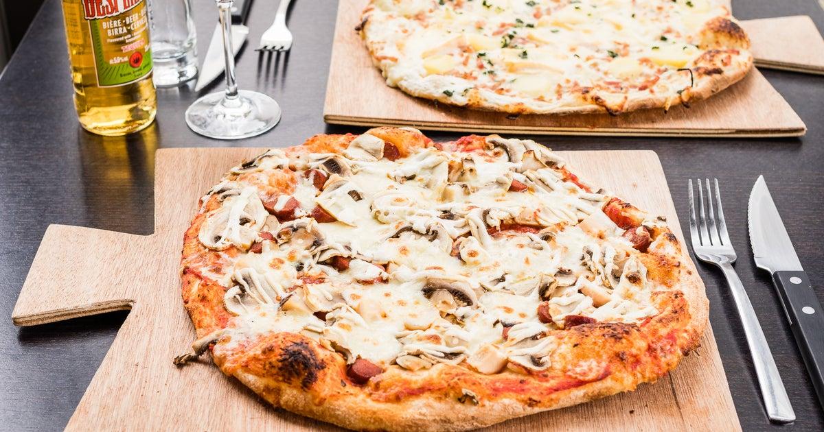 livraison pizza des deux rives neudorf meinau commandez avec deliveroo. Black Bedroom Furniture Sets. Home Design Ideas