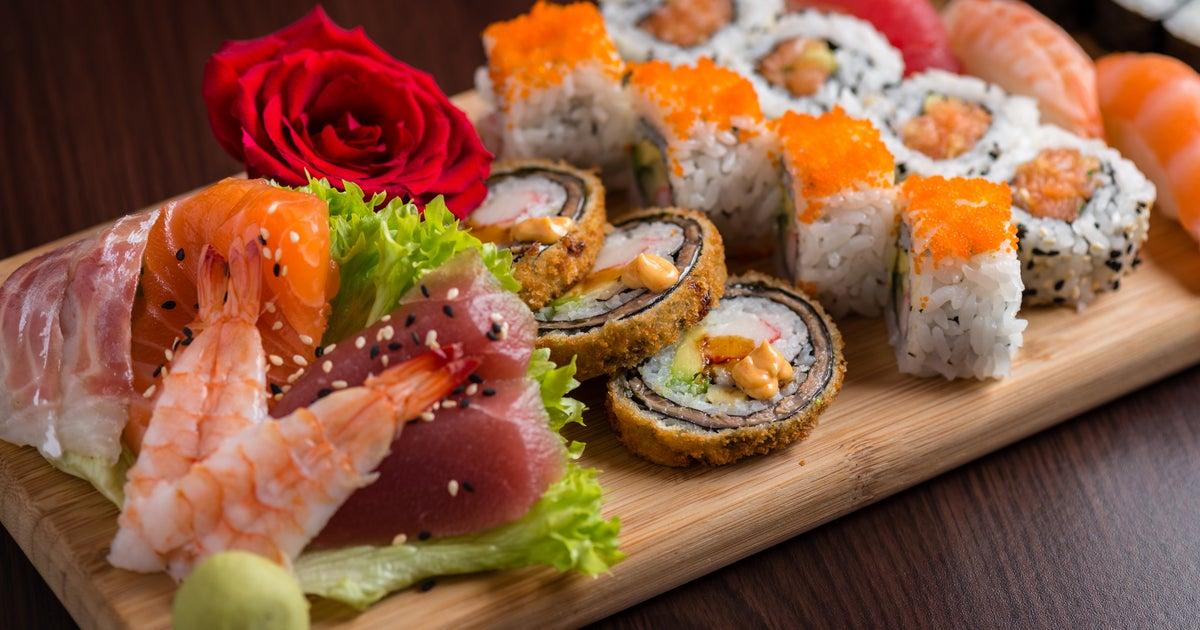 New Sushi Palace bezorging van Centrum - Bestel met Deliveroo