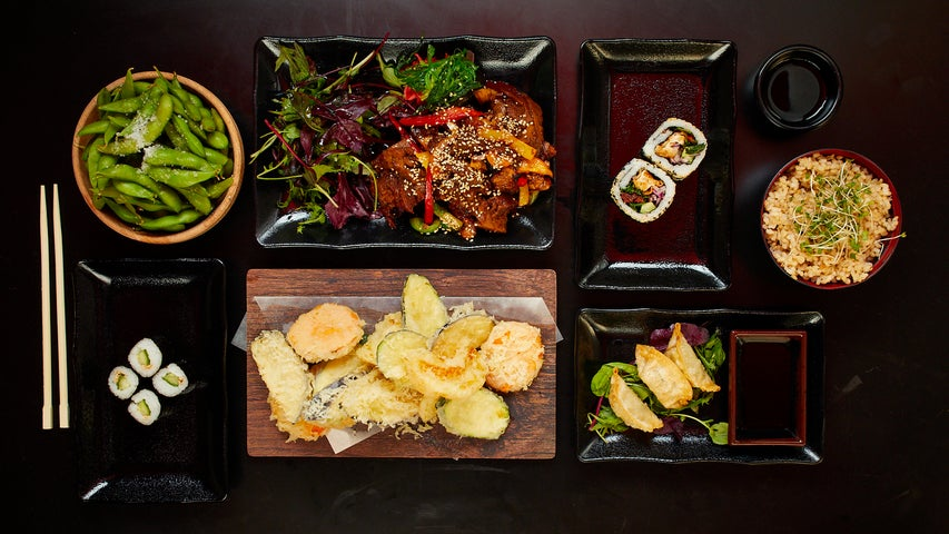 A preview of Moshimo's cuisine