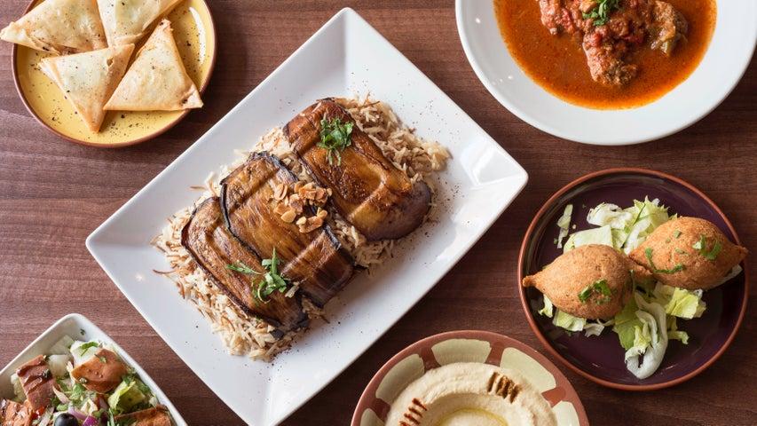 A preview of Fattoush's cuisine