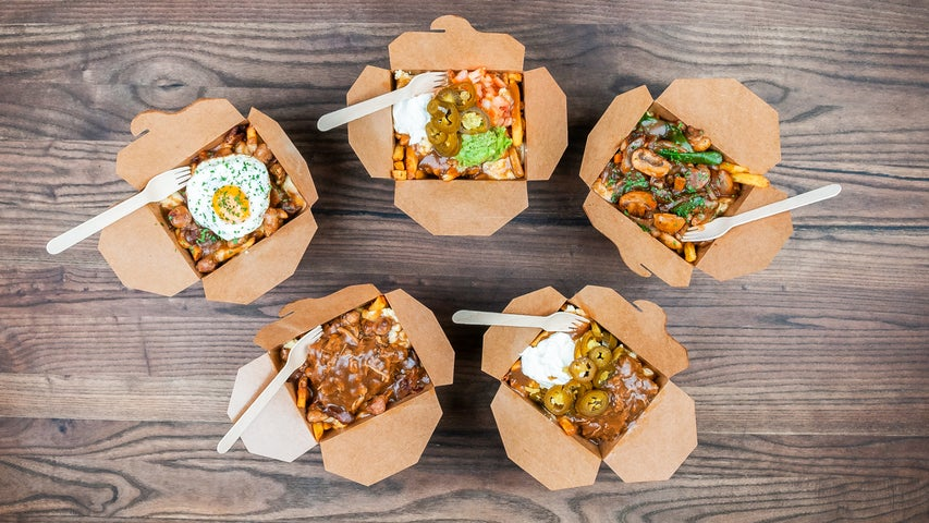 A preview of Caribou Poutine's cuisine