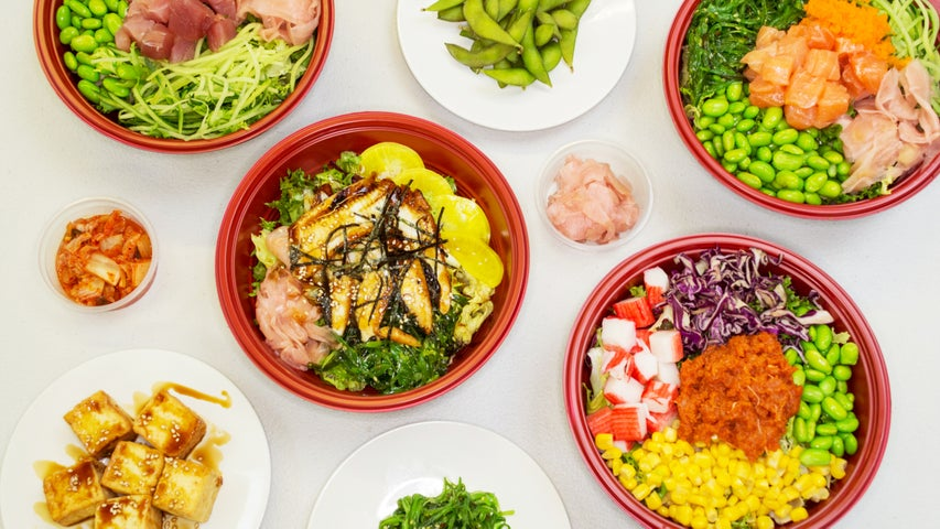 A preview of Poke House's cuisine