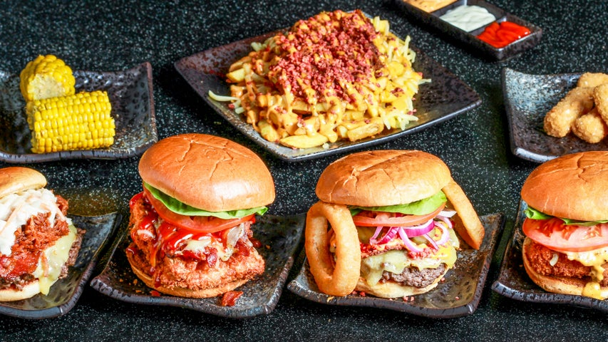 A preview of Bad Boy Burgers's cuisine