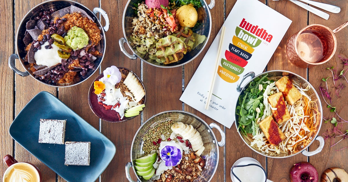 buddha bowl cafe delivery from newtown order with deliveroo. Black Bedroom Furniture Sets. Home Design Ideas