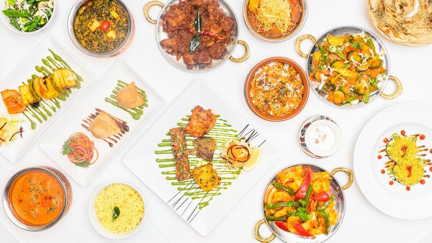 A preview of The Raj of Kensington's cuisine
