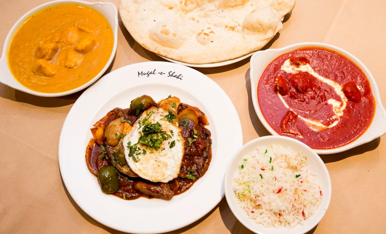 A preview of Mugal-e-Shahi's cuisine