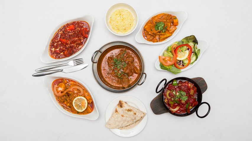 A preview of The Royal Bengal's cuisine