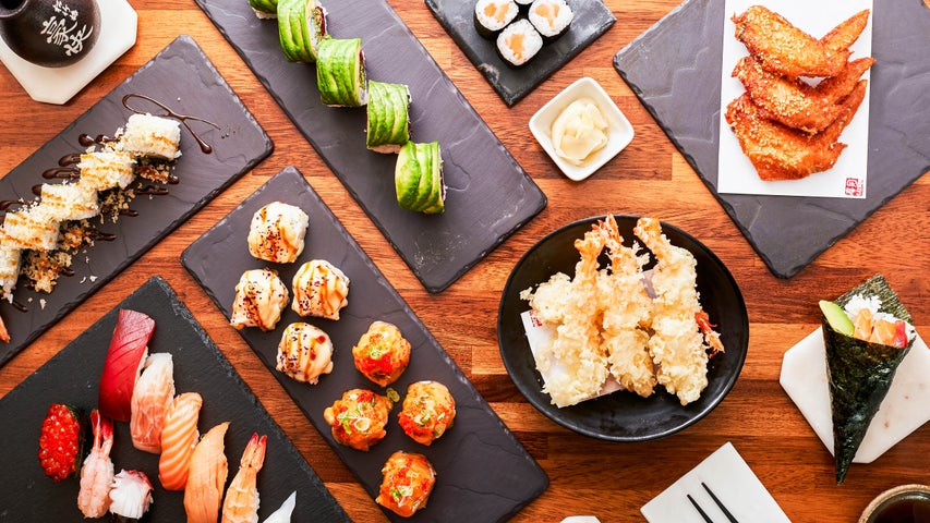 A preview of Sushi Garden's cuisine