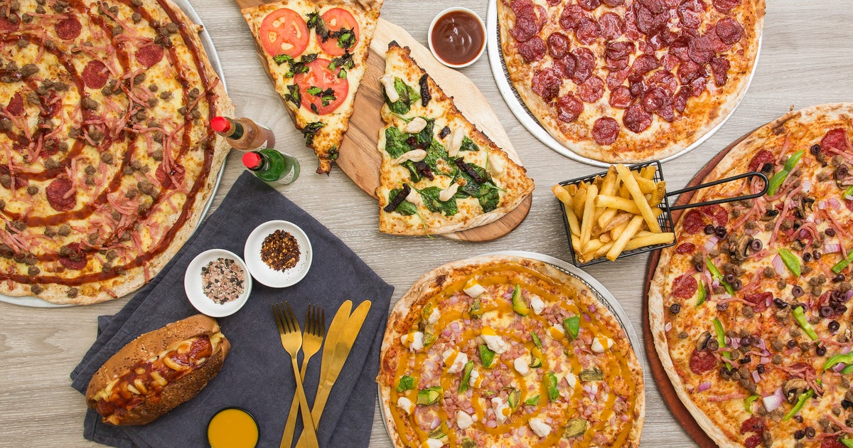 Manhattan Pizza Delivery From Kangaroo Point Order With Deliveroo