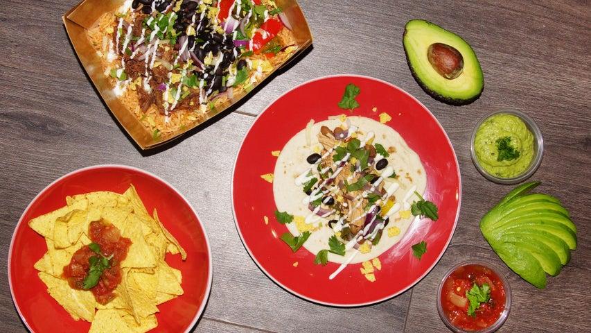 A preview of Burrito Picante's cuisine