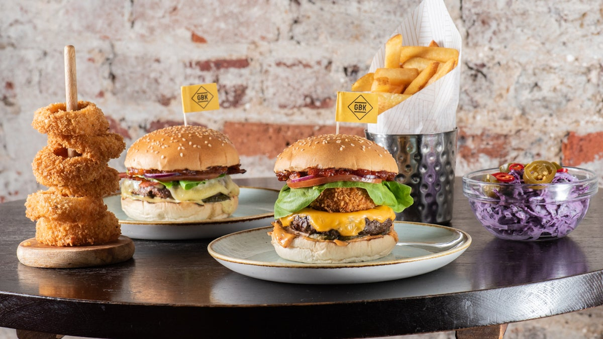 Gourmet Burger Kitchen Gbk Delivery From Canary Wharf Order With