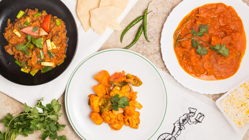 A preview of Bombay Bicycle Chef's cuisine