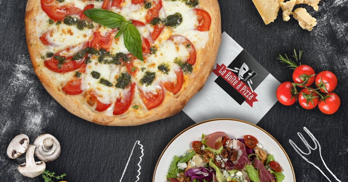 Livraison La Boîte à Pizza à Caen Université Commandez