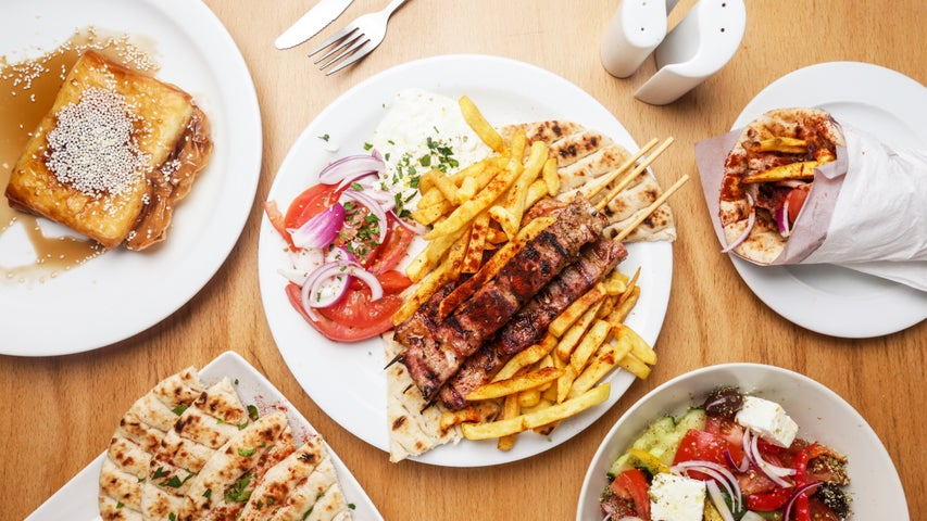 A preview of The Hellenic Eatery's cuisine