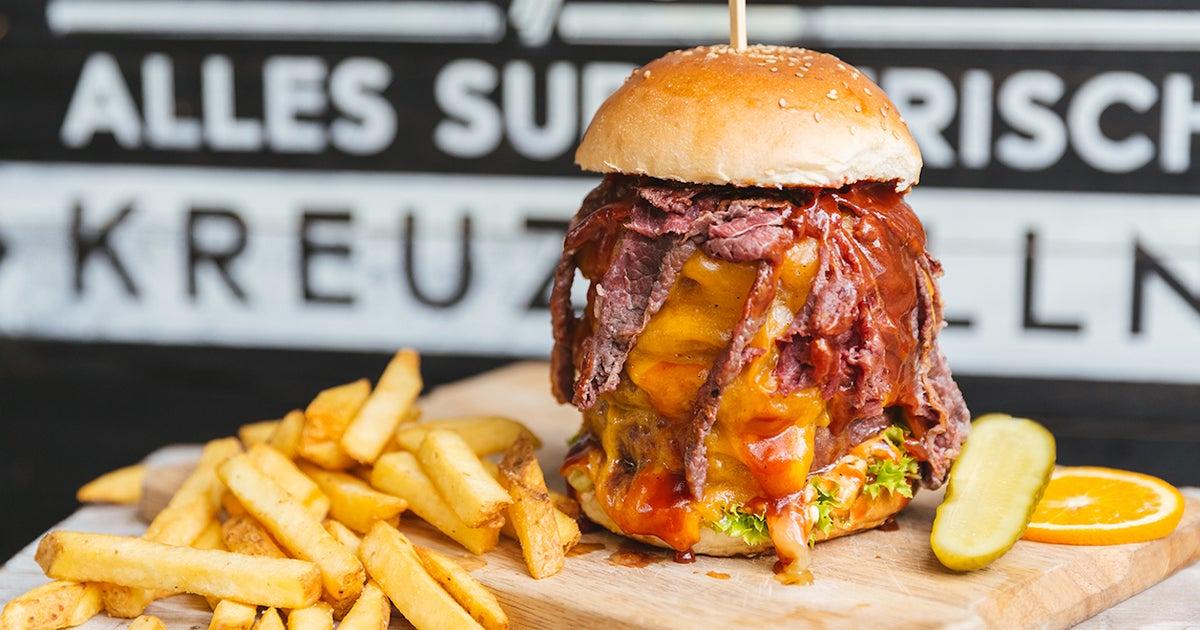 lily burger beef vegan grill express geliefert aus neuk lln bestelle bei deliveroo. Black Bedroom Furniture Sets. Home Design Ideas
