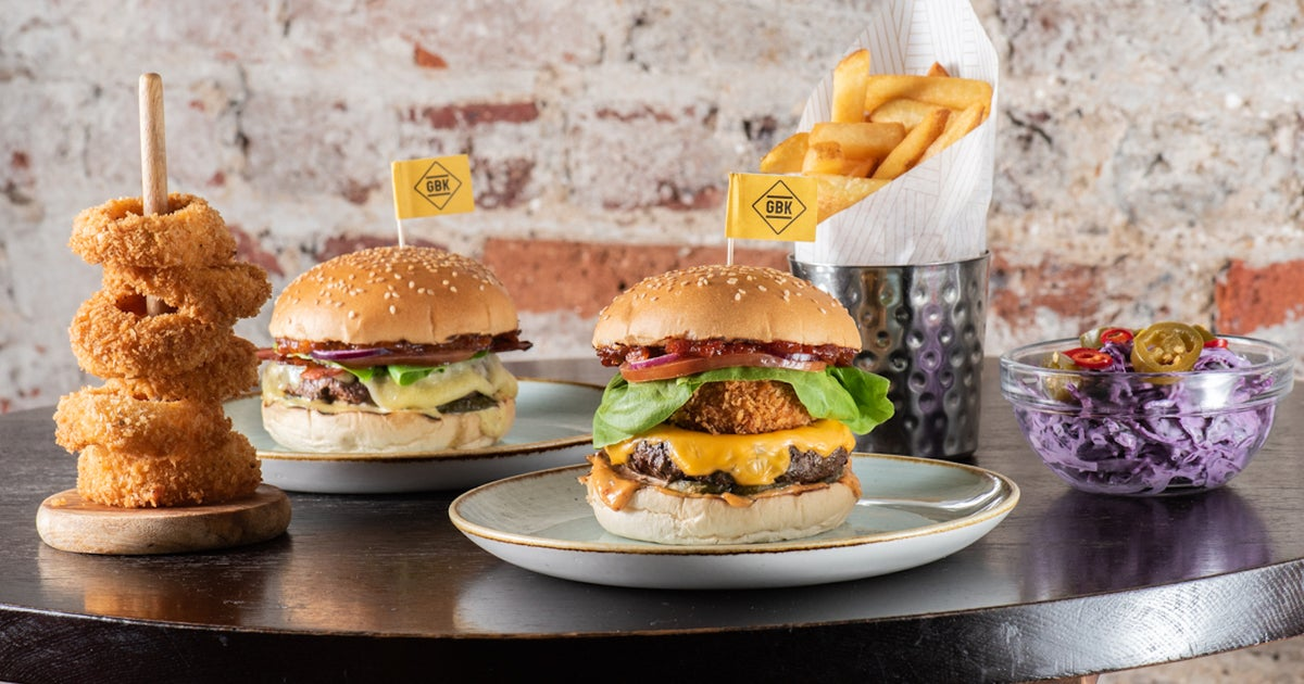 Gourmet Burger Kitchen Gbk Delivery From Ealing Order With Deliveroo
