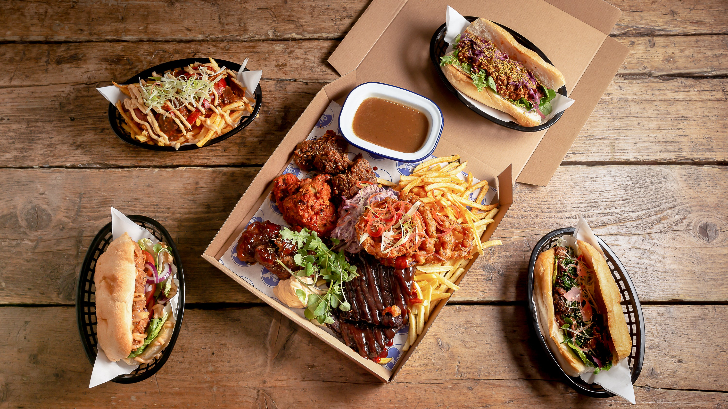 American Takeaway Delivered From Restaurants In Bristol