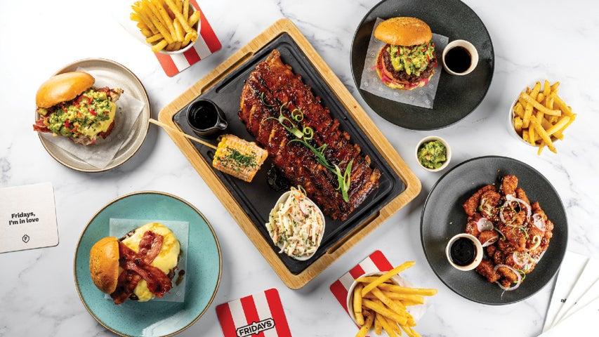 A preview of TGI Fridays - Leeds's cuisine