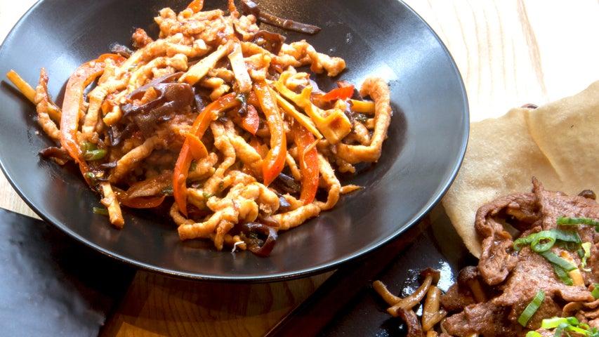 A preview of La Yuan's cuisine