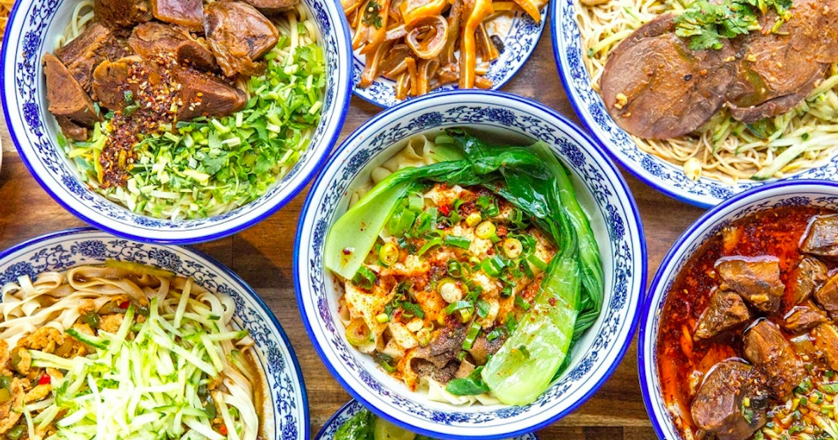 Lanzhou Beef Noodle Bar Delivery From Melbourne Cbd