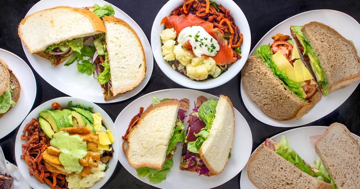 Comida de South Dowling Sandwiches - comida barata sydney