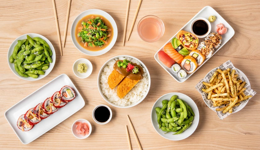A preview of YO! Sushi - Leicester Highcross's cuisine