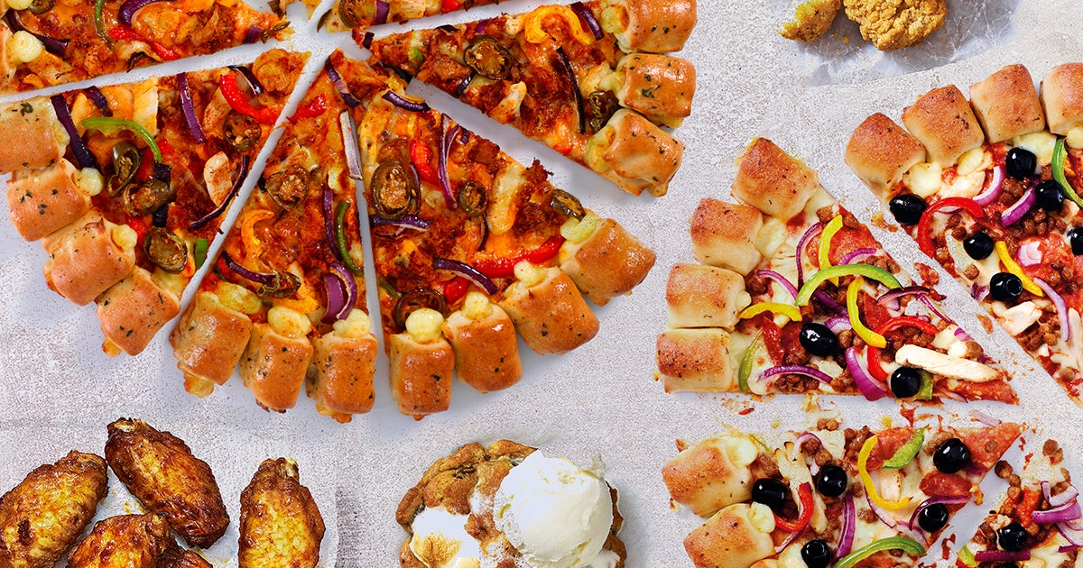 Pizza Hut Restaurants Delivery From New Town Order With